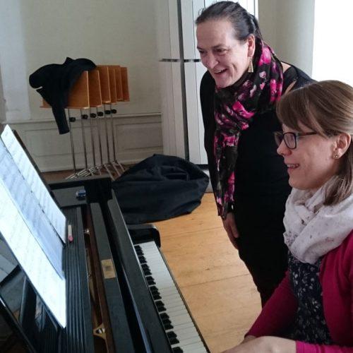 Jeder Ton will geübt sein - Chorwochenende 2018 mit Chorleiterin Julia Oszfolk